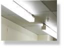 Retrofit coversion to T5 energy-saving for surface fluorescent light fitting